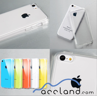 Crystal Clear Transparent Soft Thin Gel Wholesale Clear Phone Case for Cover iPhone 5C
