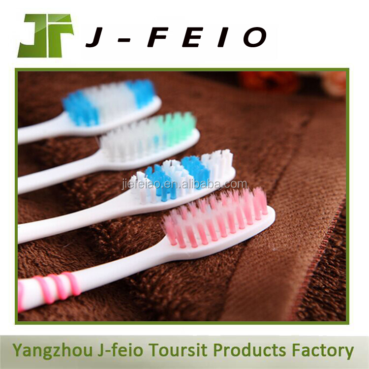 eco-friendly hotel plastic toothbrush changeable head