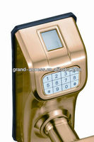 Fingerprint Door Look For glass door ,Fingerprint door lock with Keypad