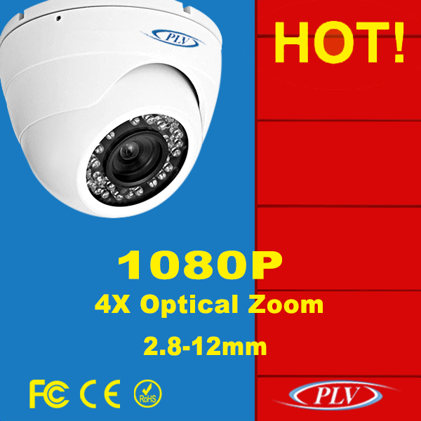 1080P zoom dome cctv camera specifications security equipment poe ip plv camera