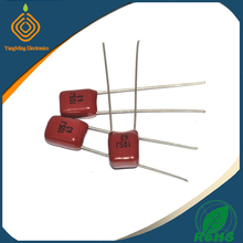 cbb film capacitor 63V 105 1UF 1000NF Pin Pitch 5mm