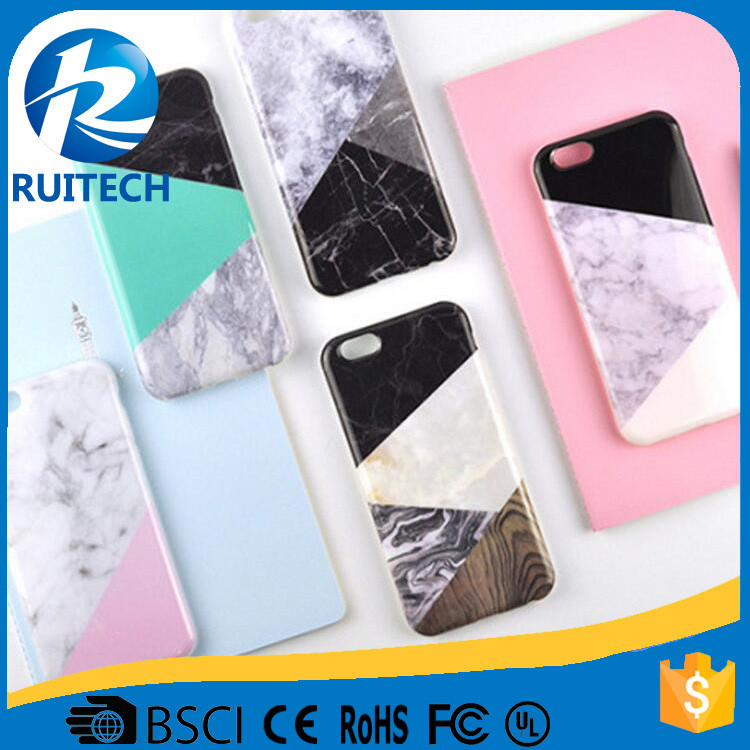 2017 New Marble Skin Soft Silicone TPU Smooth Protective Phone Case for iPhone 7 7 plus,TPU frosted case
