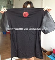 custom t shirt printing custom t shirt leather sleeves