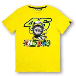 100% Cotton MOTOGP The Doctor T-shirt Luna Rossi VR 46 the Doctor Summer Sports T-Shirt