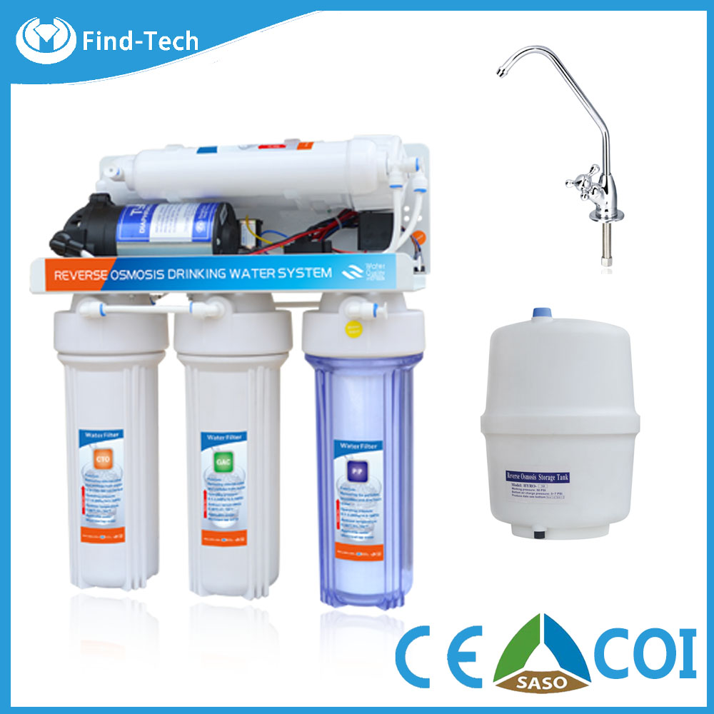 High quality water ro system for family chloride remove with reverse osmosis water purifier booster pump/ro machine