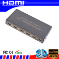 Full HD HDMI splitter 1x2 1x4 1x8 1x16 HDMI Splitter support 4K 60Hz 3D 1080p hdmi 1.3 1.4 2.0 with all hd equipment