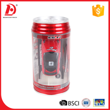 Christmas 1:87 nano chinese nitro coke can mini rc car