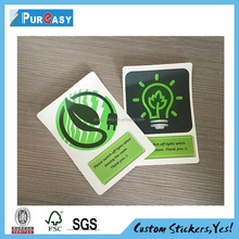 Specializing in the production of energy conservation switch stickers