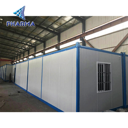 2018 China design container house floor sunlight large room thermal insulation waterproof