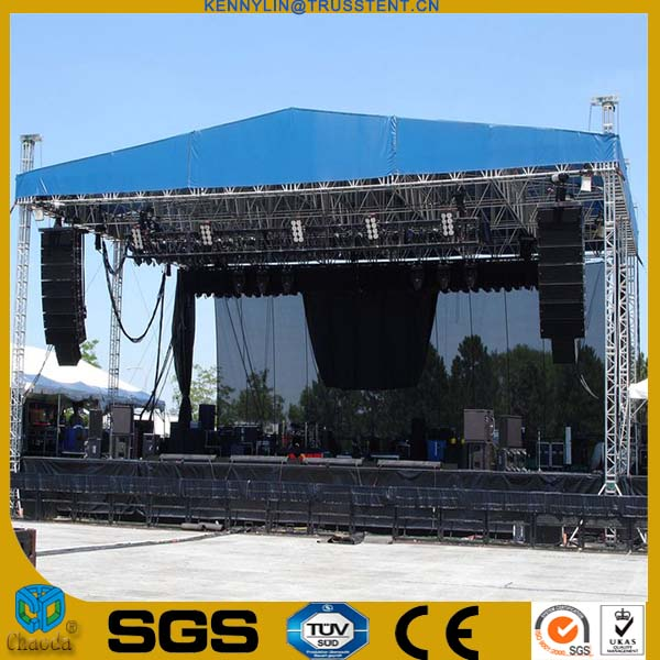 Factory Price Compact Stage Aluminum fashion Show Stage Equipment Runway Truss
