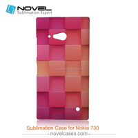 fancy 3d sublimatin Custom design New style phone case for Nokia 730