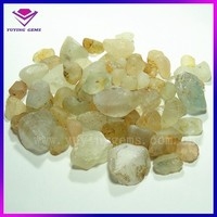 2014 China Wholesale Natural raw topaz stone price white topaz rough