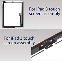 for ipad 3 lcd with digitizer assembly,high quality touch screen lcd for ipad3,lcd display replacement for ipad 3
