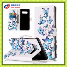 Case For Samsung Galaxy S4 S5 S6 S6 S7 Edge Galaxy S8 Plus Note 8 Wallet Leather Case For Samsung Galaxy Note 8 5 4 3