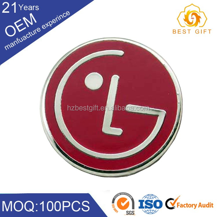 Custom employee badge maker Gold supplier