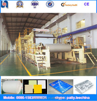 wood pulp and used condition OCC waste paper recycle to make writing paper printing paper making machinery