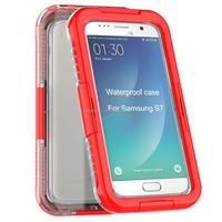 Waterproof Hard Cellphone Shockproof Case For Samsung S7 Edge