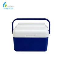 8L Storage Cool Box Plastic Portable