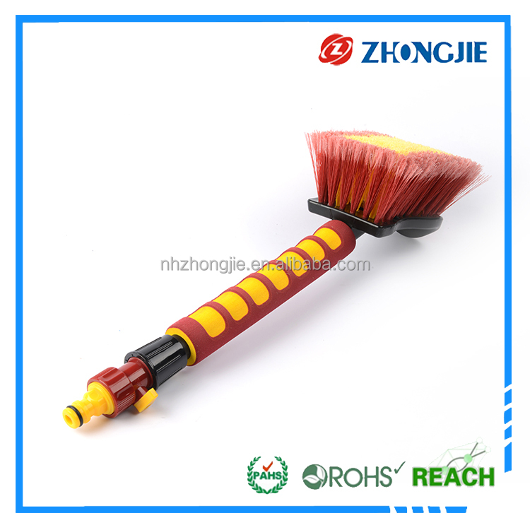 Wheel brush car wash ,plastic handle car brush,car detailing brush