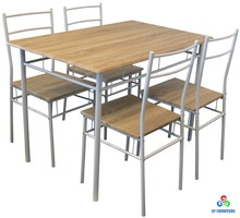 Wooden dining table new MDF dining table dining room set