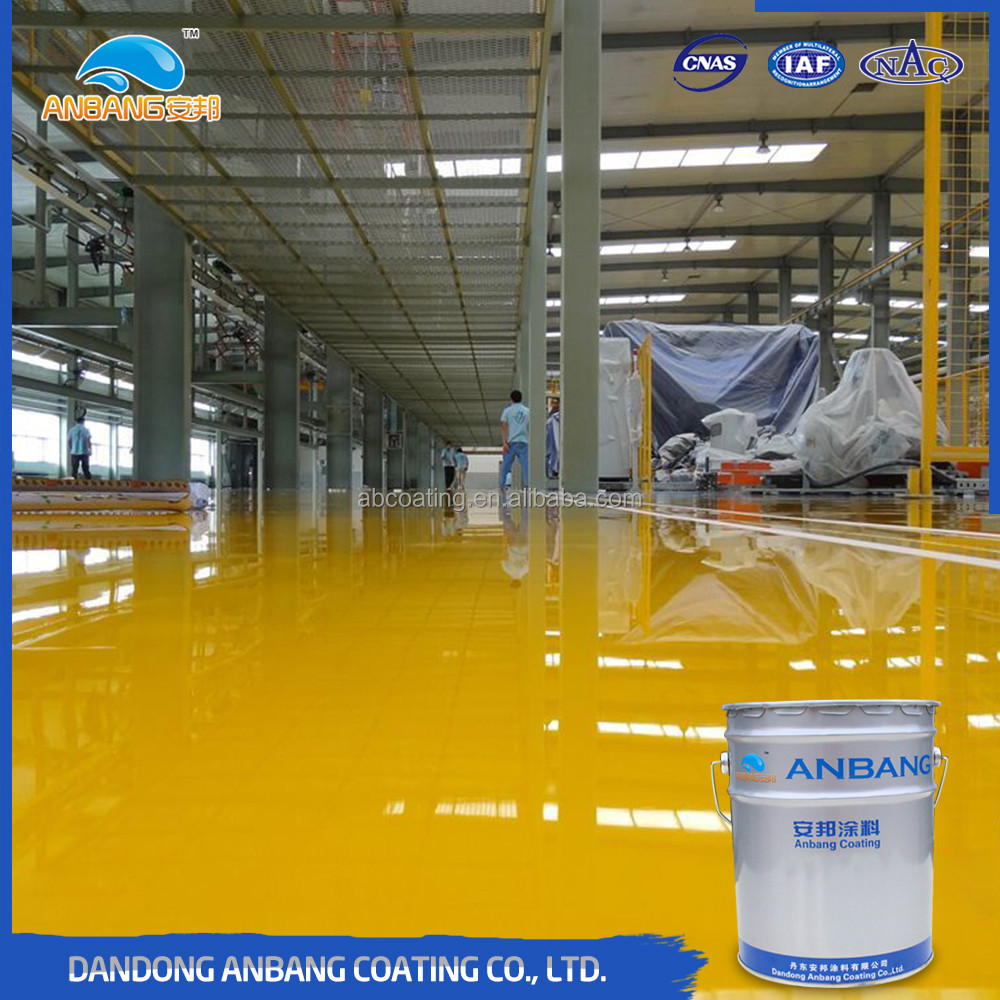 Cool storage OEM high gloss quick-drying concrete floor paint