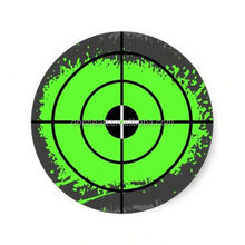 Hot sale Paintball party stickers | paint splatter target car wrap sticker