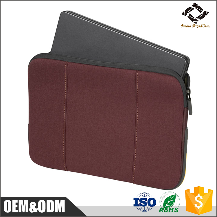 "wholesale modern style custom color and size neoprene laptop sleeve for 10"" 11.6"" 13.3"" 15.4"" inch laptop"