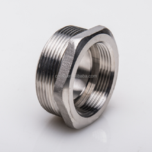 SS316 thread pipe fittings steel sleeve bushing