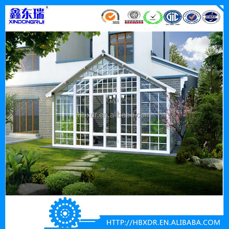 Construction aluminum section aluminum frame aluminum garden greenhouse