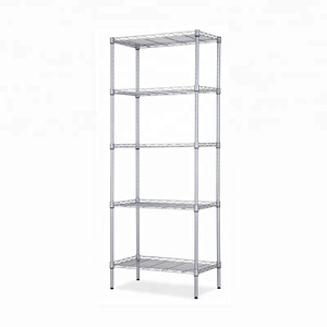 NSF racking household shelf chrome adjustable wire shelving