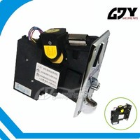 Plastic coin acceptor with pc control for vending machine