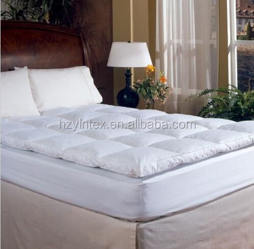 Luxury Down Feather Bed Mattress Topper High Quality Bed Mattress Topper - Jozy Mattress | Jozy.net