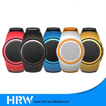 Multi Function Outdoor Sports Music Watch Mini Wireless Speaker for mobile phone FM Radio+Control Selfie-timer Shutter