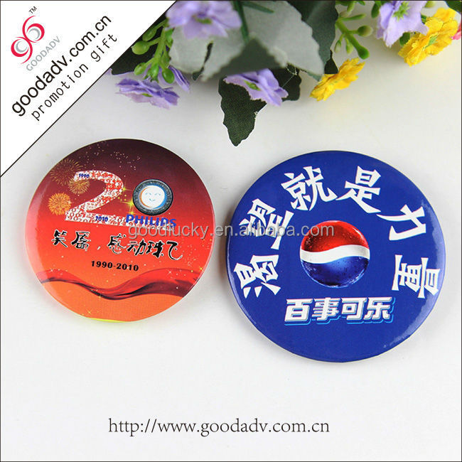 2017 hot new products high quality custom metal pin button badges