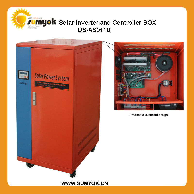 1KW 2KW 3KW energy saving solar power generator for small home using