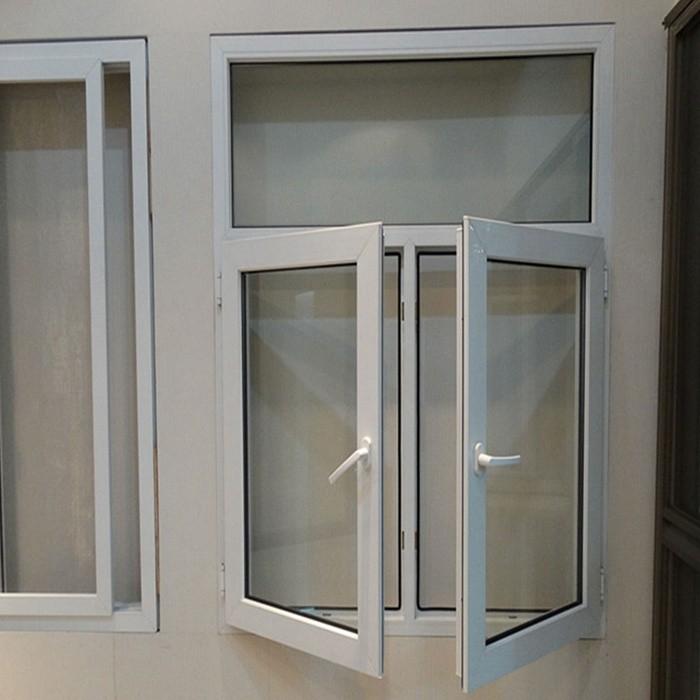 Pvc profile window pvc casement window foshan wanjia for Invisible fly screen doors