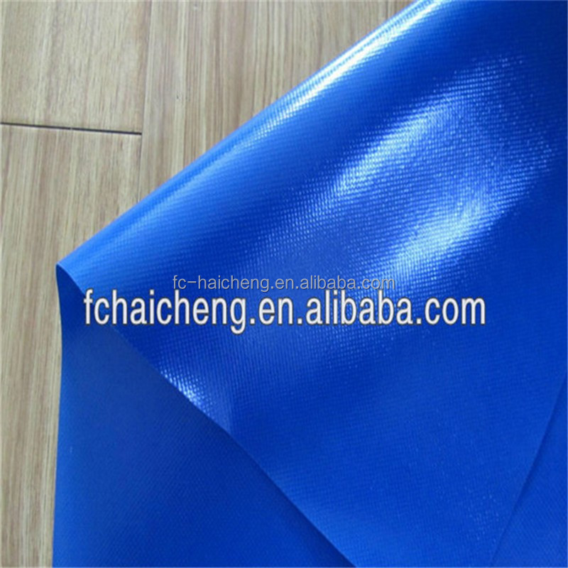 PVC coated polyester fabric canvas tarpaulin