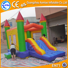China Manufacturer Giant Inflatable Big Bounce House with Castle Slide for Kid's Party