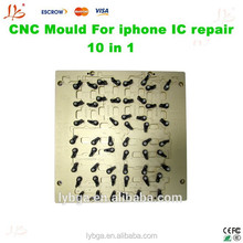2015 NEWEST LY CNC mould 10 in 1 mould for apple phone motherboard and phone IC moble jig