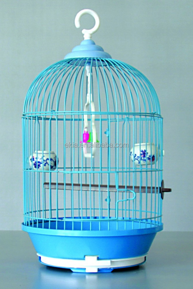Home Pet Classic Round Bird Cage Red Birdcage Pet Birds Cages