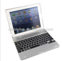 Wholesale wireless case for Ipad 2 3 4 bluetooth keyboard for apple ipad