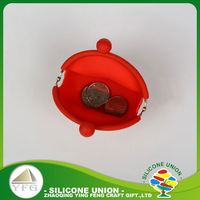Practical products silicone fashion silicone coin bag