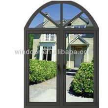 Industrial aluminum window for hotel/ warehouse/workshops, factory price powder coated aluminum window