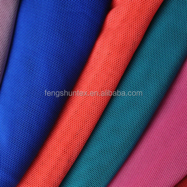ready made 4 way stretch mesh fabric