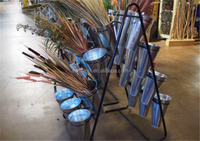 Floor Standing Metal 4 Tiers Wedding Flower Stand Decoration