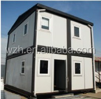 Earthquake Resistant Prefabricated Office//40 ft Office Container /Prefab Office