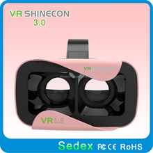 The 3rd generation vr shinecon 3d glasses virtual reality, cheap 3d active shutter glasses
