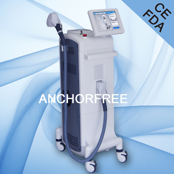 U.S FDA, CFDA, Germany TUV CE0197 Approved Permanent Arm Hair Removal Anchorfree 808 Diode Laser