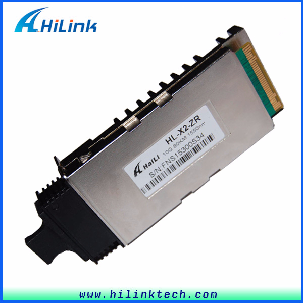 transmitter and receiver Fiber Optic 10G X2 LR 1310nm 10km