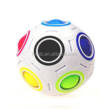 Pop Rainbow Magic Ball Plastic Cube Twist Puzzle Toys For Children's Educational Toy Teenagers Adult Stress Reliever